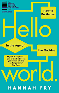 Hello World by Hannah Fry, book cover